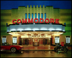 click for larger image of the Commodore Theatre exterior